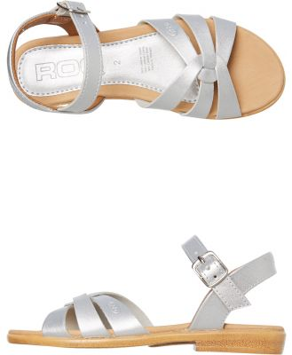 Roc Boots Australia Piper Girls Sandal - Youth Silver