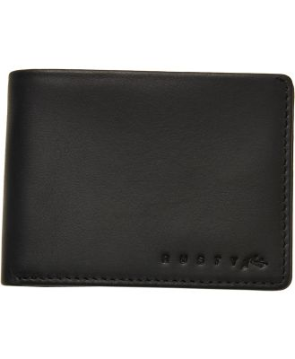 Rusty Stealth Leather Wallet Black