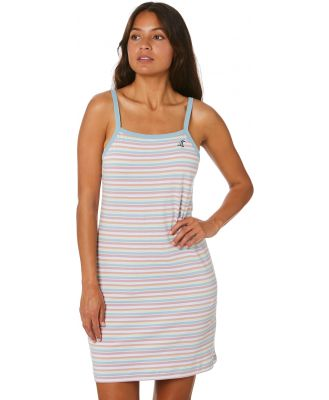 Santa Cruz Isobel Tank Dress Stripe