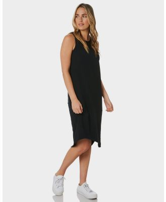 Silent Theory One In Eight Midi Dress Black