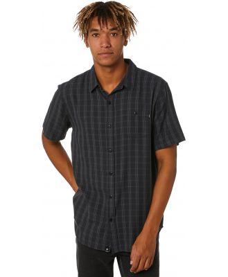 St Goliath Cities Mens Shirt Charcoal Charcoal