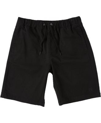 Swell Boys Angeles Walkshort - Teens Black