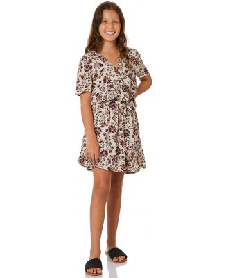 The Hidden Way Oasis Wrap Dress Oasis Floral Oasis Floral