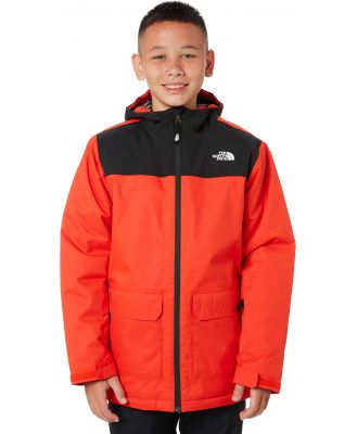 The North Face Boys Freedom Insulated Snow Jacket Fiery Red