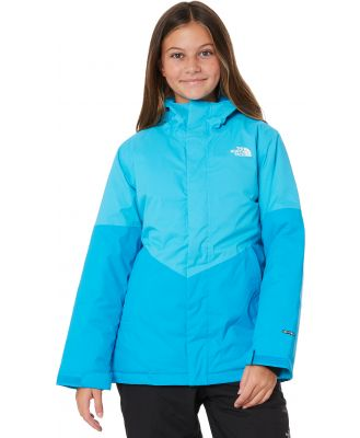 The North Face Girls Brianna Insulated Snow Jacket Turquoise Turquoise
