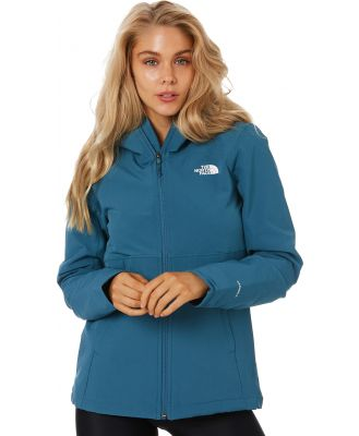 The North Face Womens Shlbe Rschl Hoodie Mid Blue
