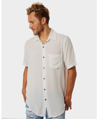 The People Vs Stevie Ss Mens Shirt White