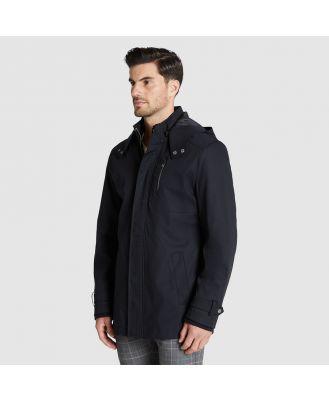 Tarocash Abe Water Resistant Hooded Jacket Black L
