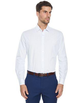 Tarocash Check Max Dress Shirt White M