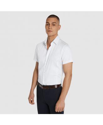 Tarocash Jason Muscle Fit Shirt White M