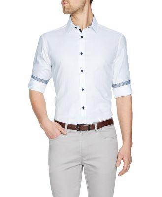 Tarocash Ludlow Textured Shirt White Xxxl