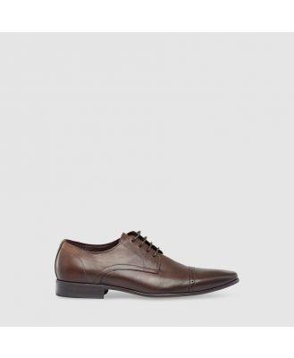 Tarocash Manhattan Textured Dress Shoe Chocolate 12