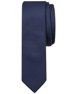 Tarocash Plain Tie 5 Cm Navy 1