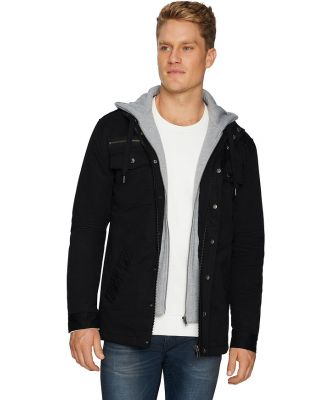 Tarocash Reserve Hooded Jacket Black L