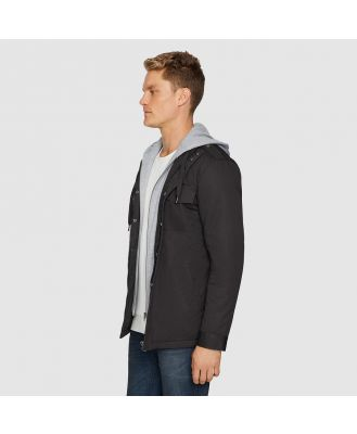 Tarocash Reserve Hooded Jacket Charcoal S