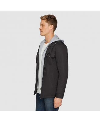 Tarocash Reserve Hooded Jacket Charcoal S