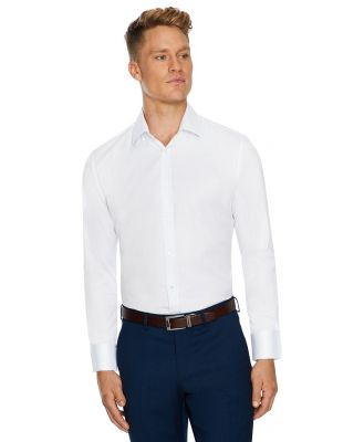 Tarocash Toby Slim Stretch Dress Shirt White Xxxl