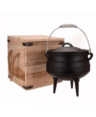 Campfire Cast Iron 8 Litre Potjie Pot