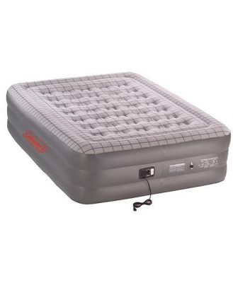 Coleman Queen Size Double High Quickbed w/built in 240V Pump