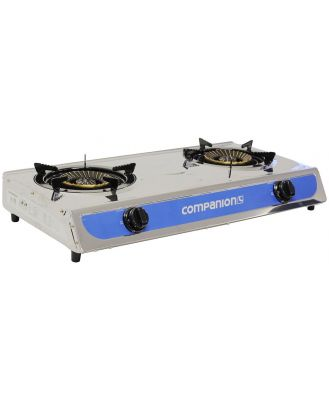 Companion 2 Burner Wok Cooker Stove
