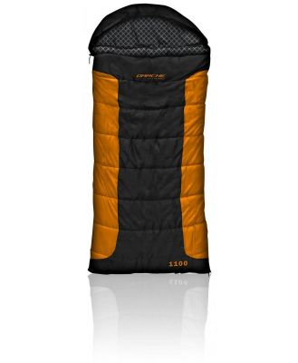 Darche Cold Mountain 1100 -12C Sleeping Bag - Black/Orange
