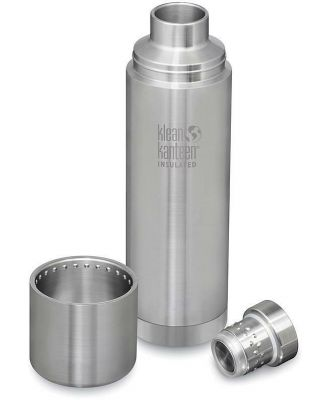 Klean Kanteen TKPro 1000ml Insulated Bottle with Cap - Stainless Steel