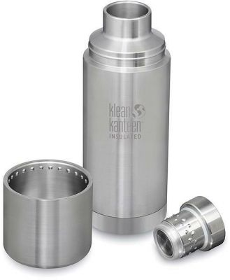 Klean Kanteen TKPro 750ml Insulated Bottle with Cap - Stainless Steel