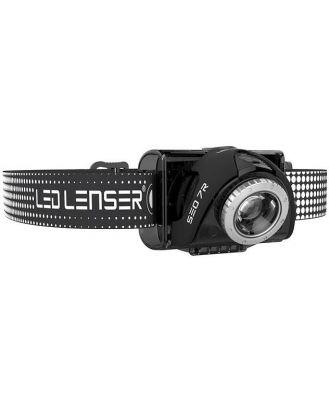 Led Lenser SEO 7R Rechargeable Headlamp - Black - Clam