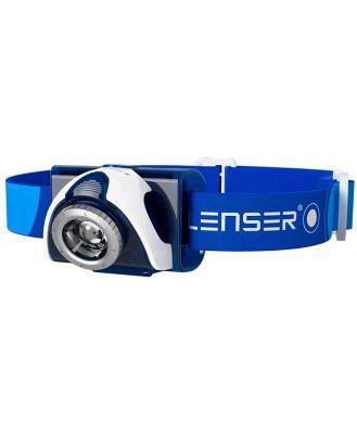 Led Lenser SEO 7R Rechargeable Headlamp - Blue - Clam