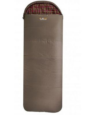 OZtrail Cotton Canvas Mega Hooded -12C Sleeping Bag