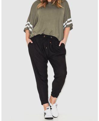 17 Sundays - Casablanca Harem Pants - Pants (Black) Casablanca Harem Pants