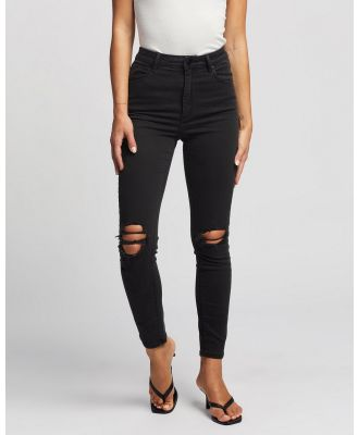 Abrand - A High Skinny Ankle Basher Jeans - Jeans (Buster Black) A High Skinny Ankle Basher Jeans