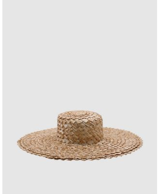 Ace Of Something - Marbella Boater - Hats (Natural) Marbella Boater