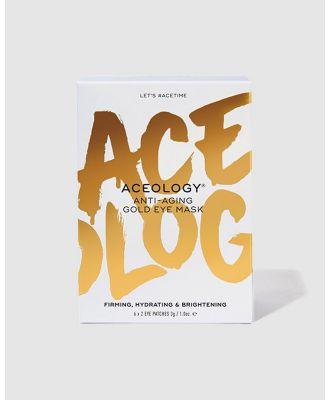 Aceology - Anti Aging Gold Eye Mask 6 Pack - Beauty (N/A) Anti-Aging Gold Eye Mask 6-Pack