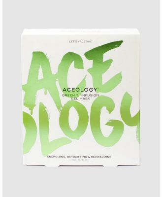 Aceology - Green T. Infusion Gel Mask - Beauty (Green Tea) Green T. Infusion Gel Mask