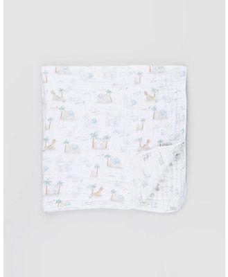 Aden & Anais - Classic Dream Blanket - Nursery (My Darling Dumbo) Classic Dream Blanket