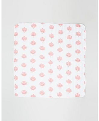 Aden & Anais - Multi Classic Dream Blanket - Blankets (Paisley Teal) Multi Classic Dream Blanket