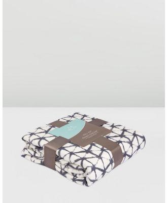 Aden & Anais - Pebble Shibori Silky Soft Dream Blanket - Blankets (Multi) Pebble Shibori Silky Soft Dream Blanket