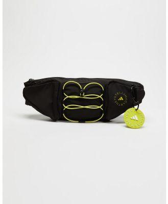 adidas by Stella McCartney - Bumbag - Bum Bags (Black & Acid Yellow) Bumbag