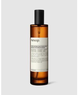 Aesop - Istros Aromatique Room Spray 100mL - Home Fragrance (N/A) Istros Aromatique Room Spray 100mL