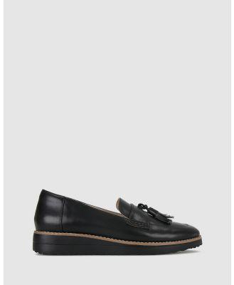 Airflex - Dori Leather Loafers - Flats (Black ) Dori Leather Loafers