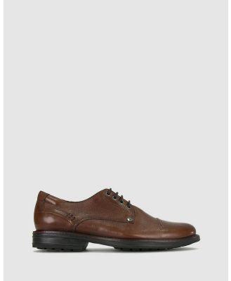 Airflex - Owen Leather Shoes - Casual Shoes (Tan) Owen Leather Shoes