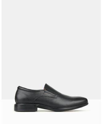 Airflex - Trophy 2 Slip On Dress Shoes - Dress Shoes (Black) Trophy 2 Slip On Dress Shoes