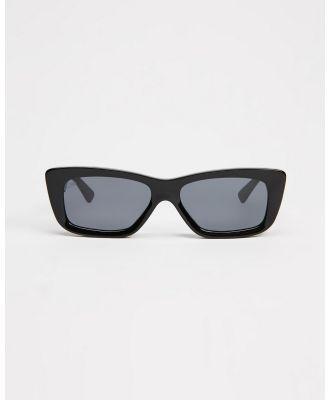AKILA - Frenzy - Sunglasses (Black & Silver) Frenzy