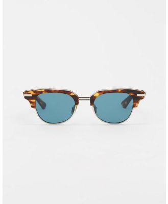 AKILA - M.Y.C - Sunglasses (Tortoise, Viridian & Silver) M.Y.C