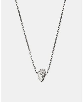 Aletheia & Phos - I Carry Your Heart Necklace - Jewellery (Silver) I Carry Your Heart Necklace