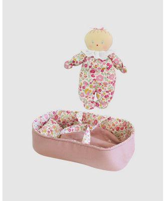 Alimrose - Asleep Awake Baby Doll Carrier Set - Dolls (Pink) Asleep Awake Baby Doll Carrier Set