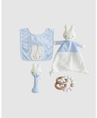 Alimrose - Baby Bunny Newborn Gift Set - Toys (Blue) Baby Bunny Newborn Gift Set