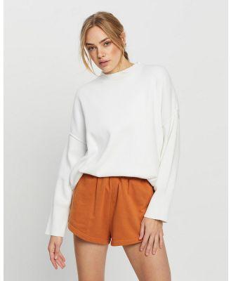 All Fenix - Lara Lounge Sweater - Sweats (White) Lara Lounge Sweater