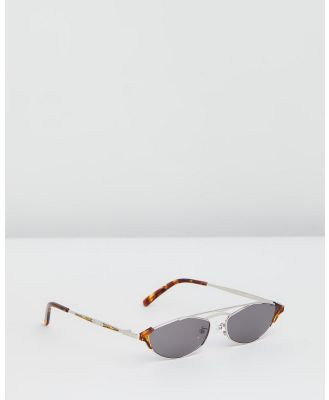 Amber Sceats - Capri Glasses - Sunglasses (Silver) Capri Glasses